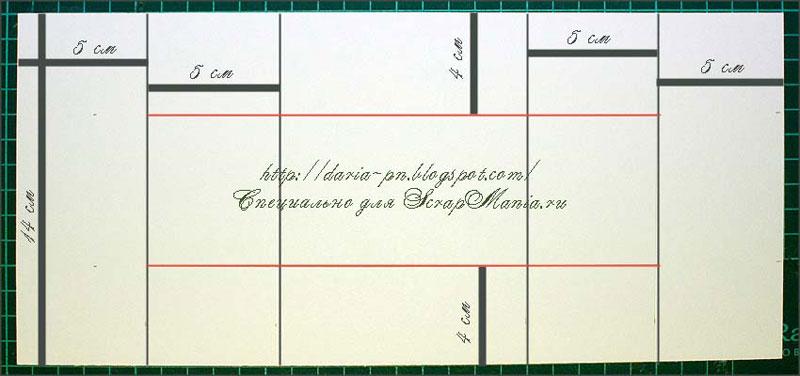 размеры скрап открытки