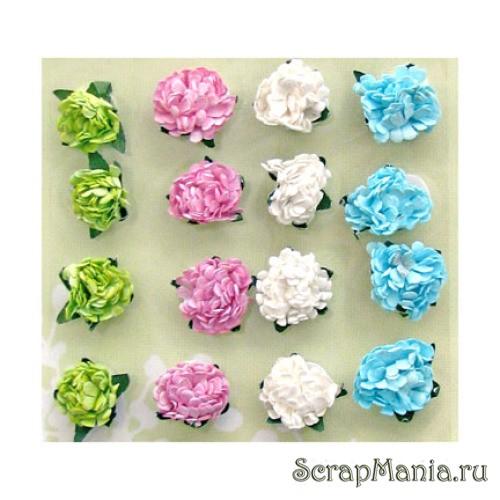Маленькие цветочки свои руками 7