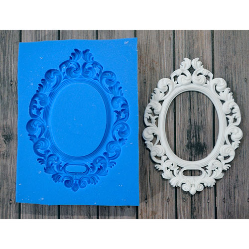 Рамки для зеркала из гипса