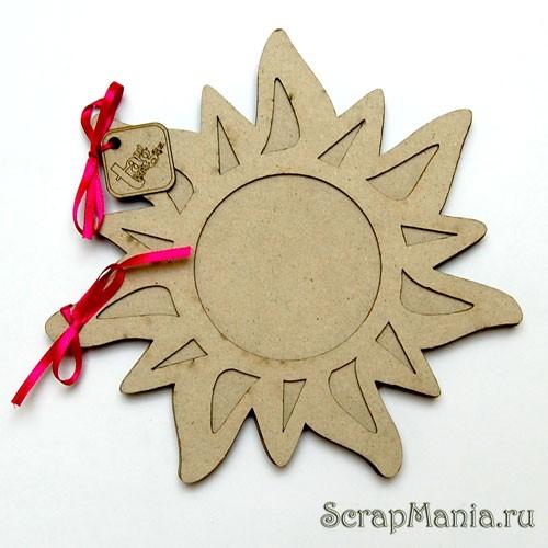 Как сделать солнышко из бумаги на голову