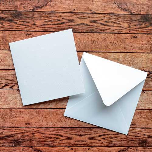 Квадратный конверт 150х150 мм для открыток 94