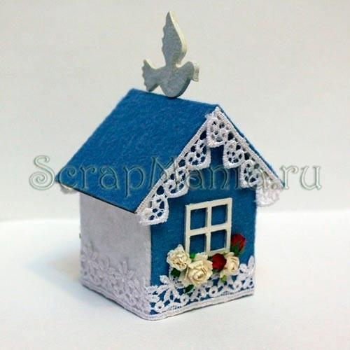 Сделать маленький домик из картона своими руками