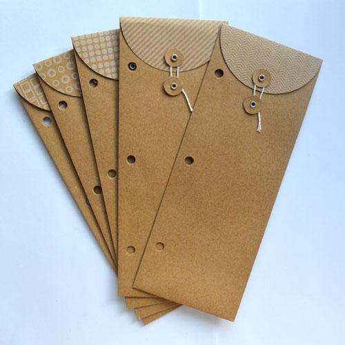 как делать длинные конверты