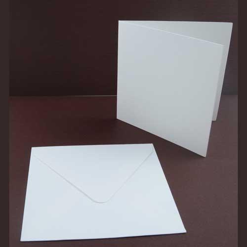 Квадратный конверт 150х150 мм для открыток 43
